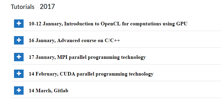 Advanced course on C/C++ (Advanced) | Joint Institute for
