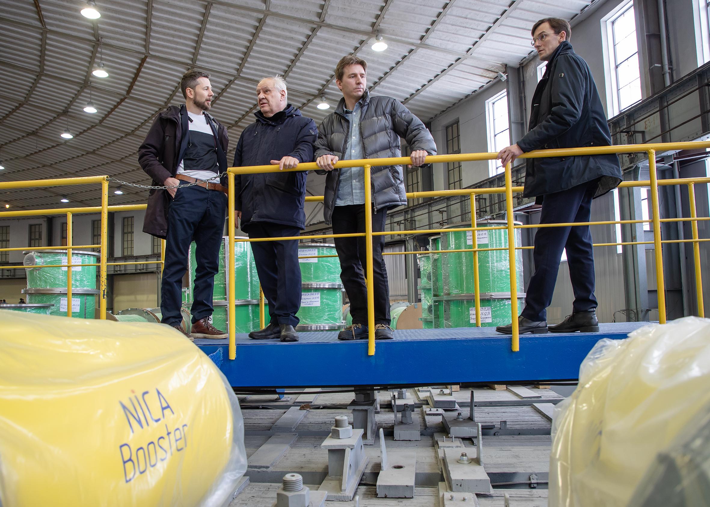 ОИЯИ посетили представители компании Яндекс в поиске областей взаимного интереса